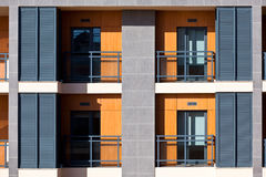 New Resort Apartment House CloseUp Stock Photo