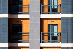 New Resort Apartment House Detail Stock Images
