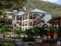 A new resort on bequia. Royalty Free Stock Photography