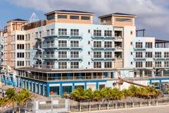 New Resort Construction in Aruba Stock Image