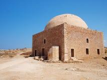 New restore church. In castle Fortezza in Crete island Royalty Free Stock Photo