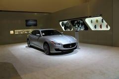 New restyled maserati quattroporte Stock Images