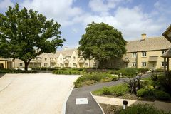 Retirement housing. A new retirement housing development in Gloucestershire, UK royalty free stock photography