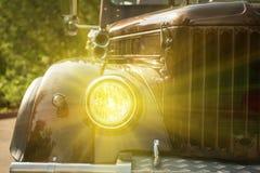 New retro truck Stock Photos