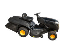 New ride on lawn tractor isolated Stock Photography