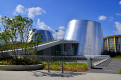 The new Rio Tinto Alcan Planetarium. MONTREAL CANADA MAY 15: The new Rio Tinto Alcan Planetarium will give visitors a chance to look back at life from a new royalty free stock photos