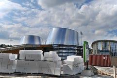 The new Rio Tinto Alcan Planetarium Royalty Free Stock Photo
