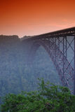 New River Bridge. In West Virginia Stock Photography