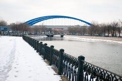 New river bridge Royalty Free Stock Image