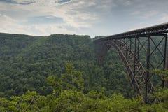 New River Bridge Stock Photo