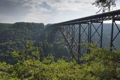 New River Bridge Stock Photography