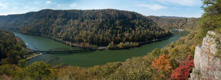 Free New River From Hawks Nest Overlook Stock Photos - 80089723