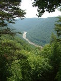 New River Gorge. West Virginia Royalty Free Stock Photo