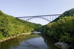New River Gorge Bridge Royalty Free Stock Image