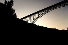New River Gorge Bridge Royalty Free Stock Photography