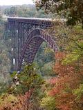 New River Gorge Bridge. Highest bridge in US New River Gorge, West Virginia stock photos