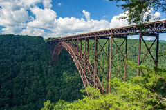 New River Gorge Bridge Royalty Free Stock Images