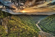 New River Gorge National River Stock Photography