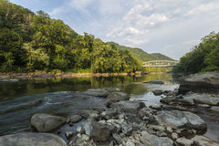New River Gorge Scenic royalty free stock image