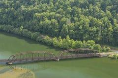 New River Gorge Scenic Stock Image