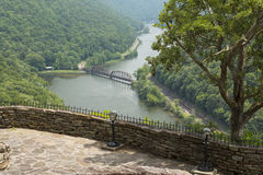 New River Gorge Scenic Stock Image