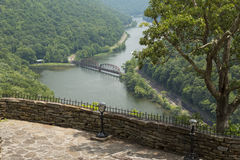 New River Gorge Scenic Royalty Free Stock Photography