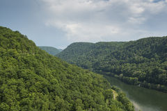 New River Gorge Scenic Royalty Free Stock Images