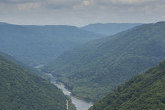 New River Gorge Scenic Royalty Free Stock Photo