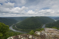 New River Gorge Scenic Royalty Free Stock Photos