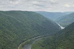 New River Gorge Scenic stock photo