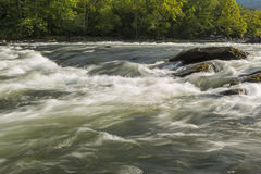 New River Rapids Stock Images