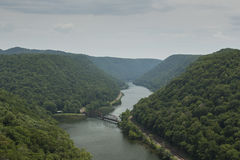 New River Scenic Stock Images