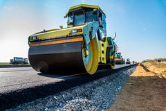 New road construction Royalty Free Stock Images