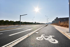 New road and infrastructure use Stock Photography
