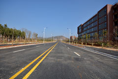 New road and infrastructure use Stock Images