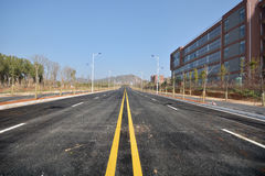 New road and infrastructure use. For goverment service transportation Stock Images