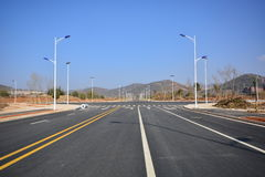 New road and infrastructure use Royalty Free Stock Photos