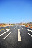 New road and infrastructure use. For goverment service transportation Stock Photography
