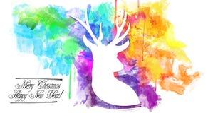 2015-New roku świętowania projekt Zdjęcie Stock
