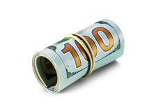 New roll of dollar bills Royalty Free Stock Photography