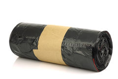 New roll of garbage bags royalty free stock photography