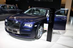 The New Rolls-Royce Ghost Royalty Free Stock Photography