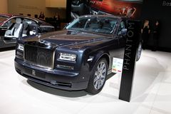 The New Rolls-Royce Phantom Royalty Free Stock Photography