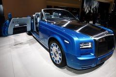 The New Rolls-Royce Phantom Drophead Coupé Stock Photos