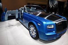 The New Rolls-Royce Phantom Drophead Coupé Stock Photos