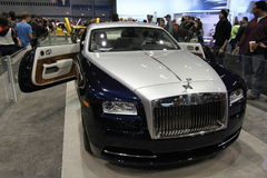New Rolls-Royce Wraith 2014. New Rolls-Royce Wraith at Chicago car show 2014 Stock Images