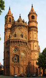New-Romanesque Cathedral in Worms, Wormser Dom Royalty Free Stock Photos