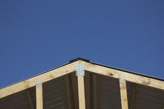 New roof construction Stock Photos