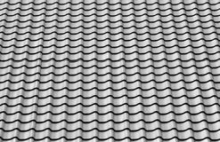 New roof metal tile Royalty Free Stock Photo