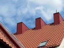 New roof Stock Photography